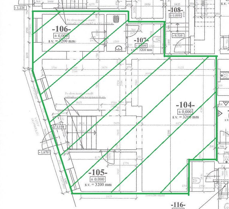 Prostor 88 m2 b